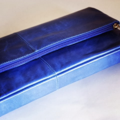 DaNi Clutch - perfect fold over pop of color!