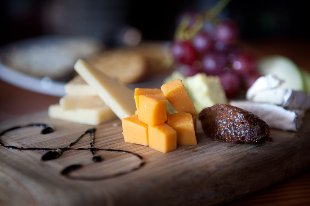 State & Allen Cheese Board