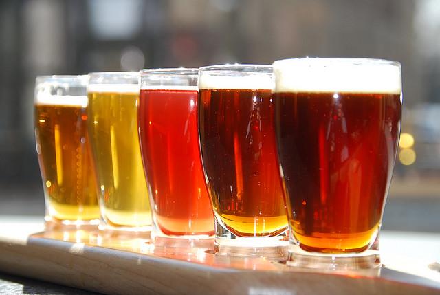 beer flight state & allen dallas