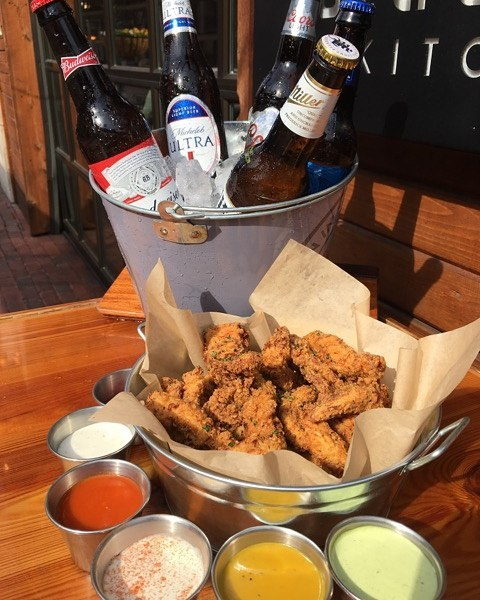 State & Allen Chicken Strips - best chicken strips in Uptown Dallas