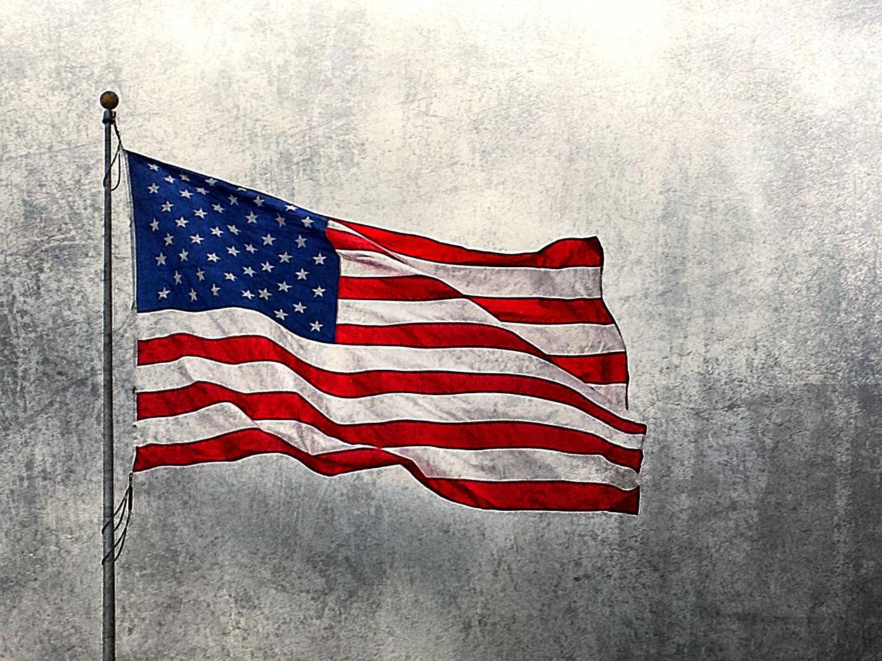 american flag state & Allen veteran's day brunch