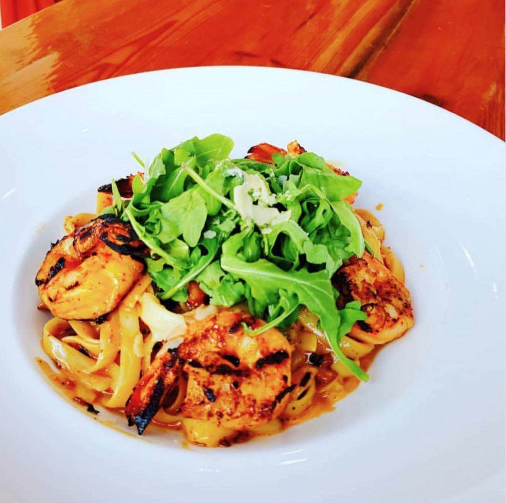 shrimp fettuccine state and allen kitchen bar best restaurant uptown dallas texas
