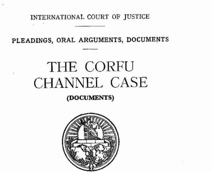 Corfu Channel Case