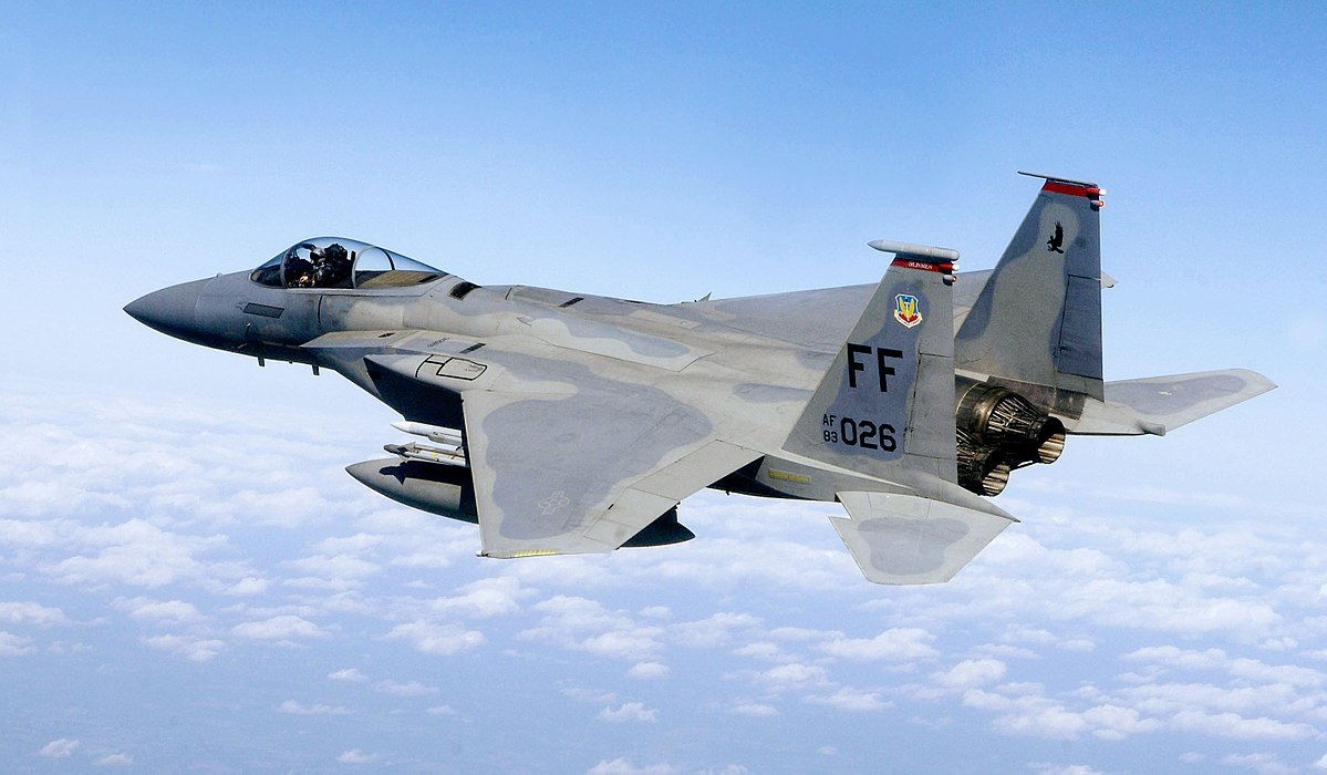 McDonnell Douglas F-15C-35-MC  Eagle  (s/n 83-0026). U.S. Air Force photo/Staff Sgt. Samuel Rogers