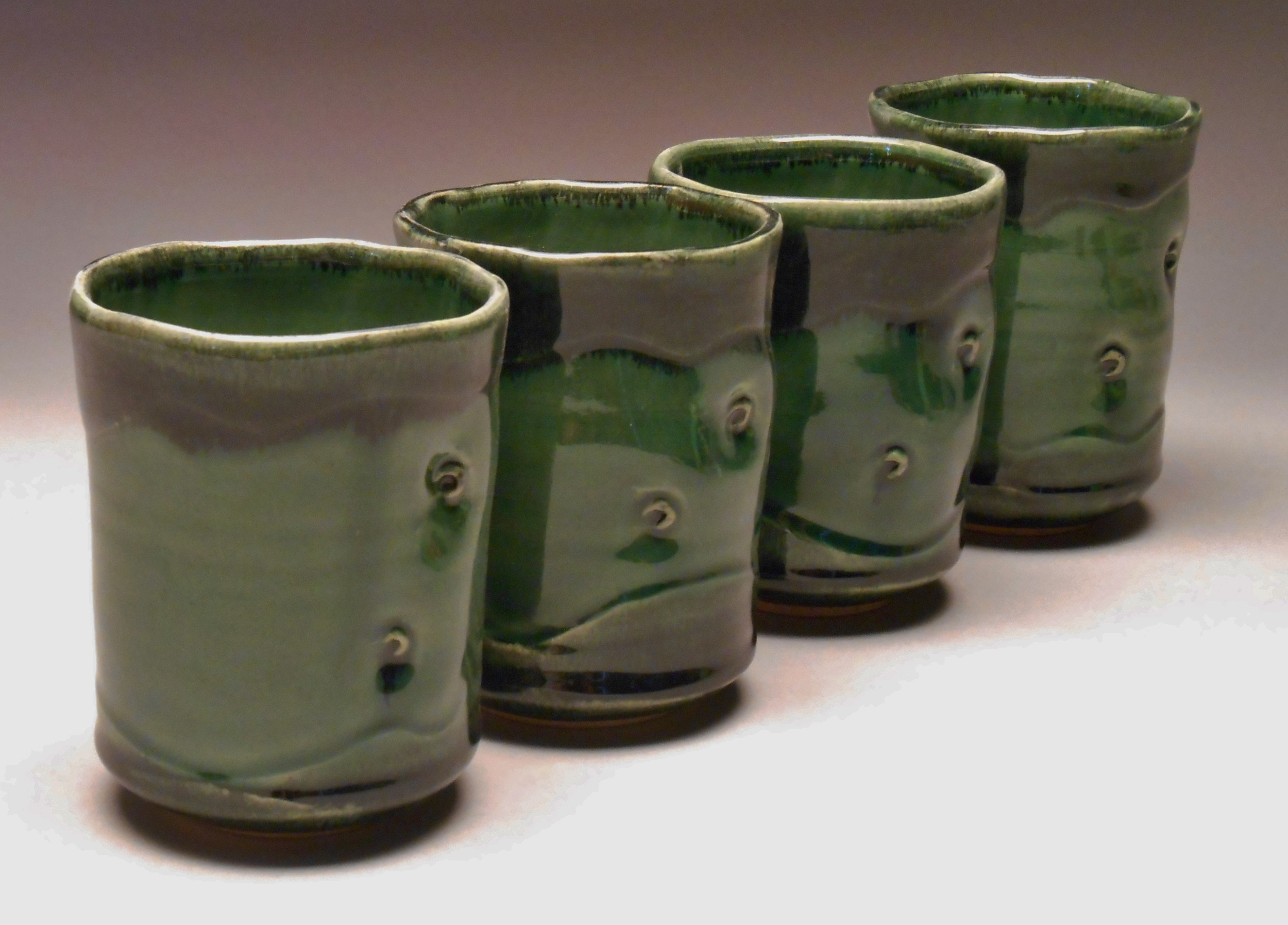 #198-201, Tumblers, 4.5x3.25, Available at Wild Hands in Jackson, WY
