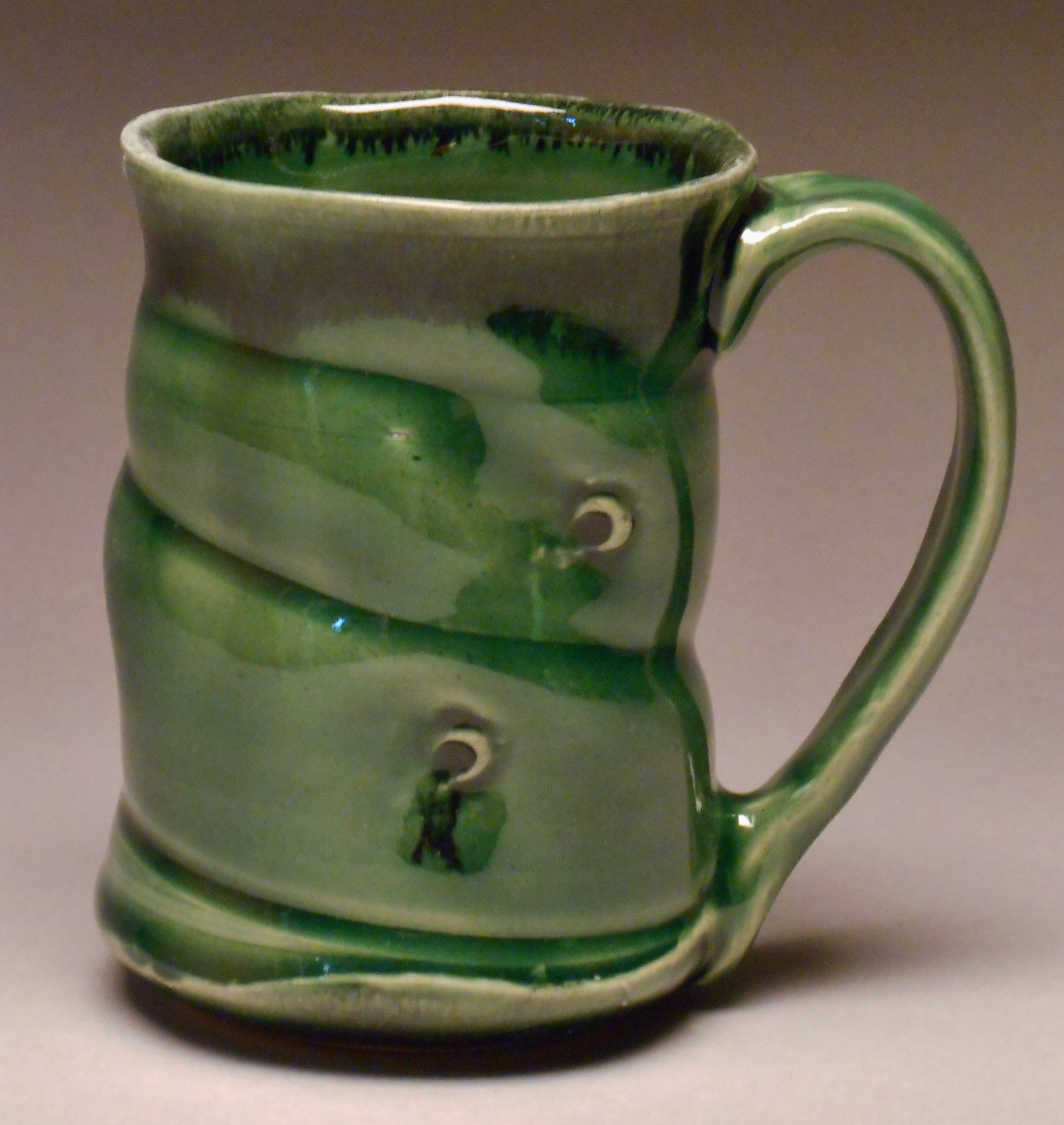 #204, Cup, 4.5x3.25, Available at Wild Hands in Jackson, WY