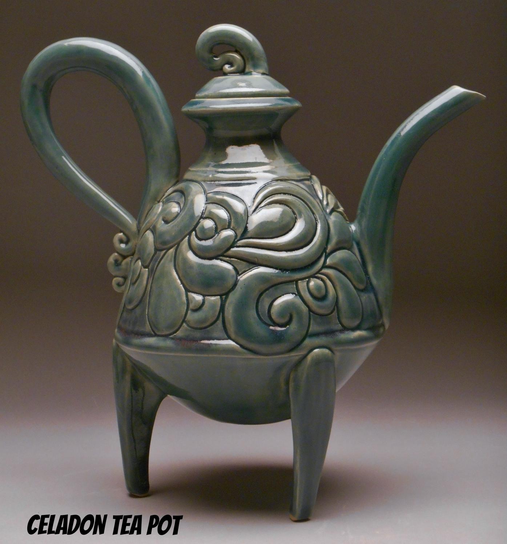 Celadon Tea Pot