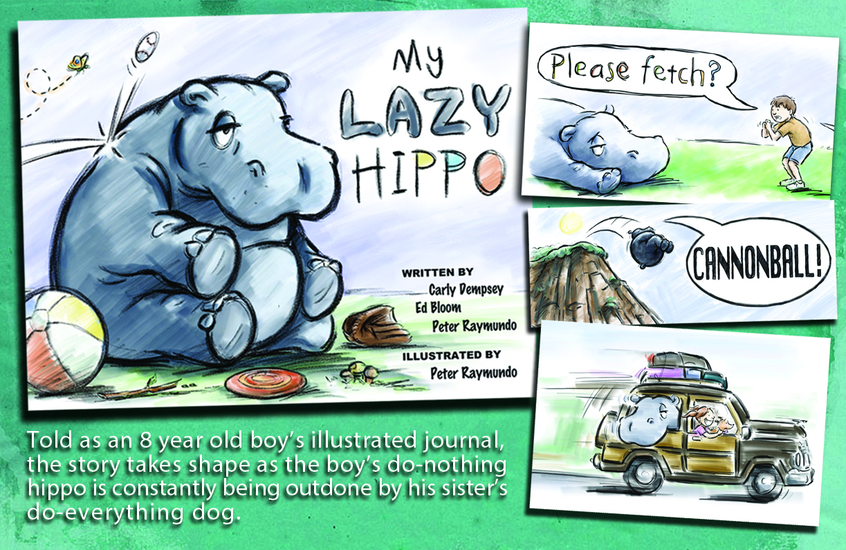 The boy in this story never gives up on his pet hippo, and eventually, in the most unexpected way, this heartwarming story proves that even the laziest of Hippos can be great at something if they just do what they love.  (currently OUT OF PRINT).