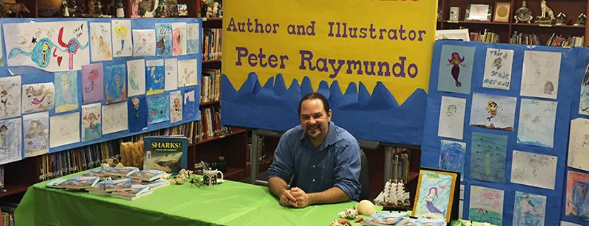 Me at Flora Ridge Elementary during their Scholastic book fair.