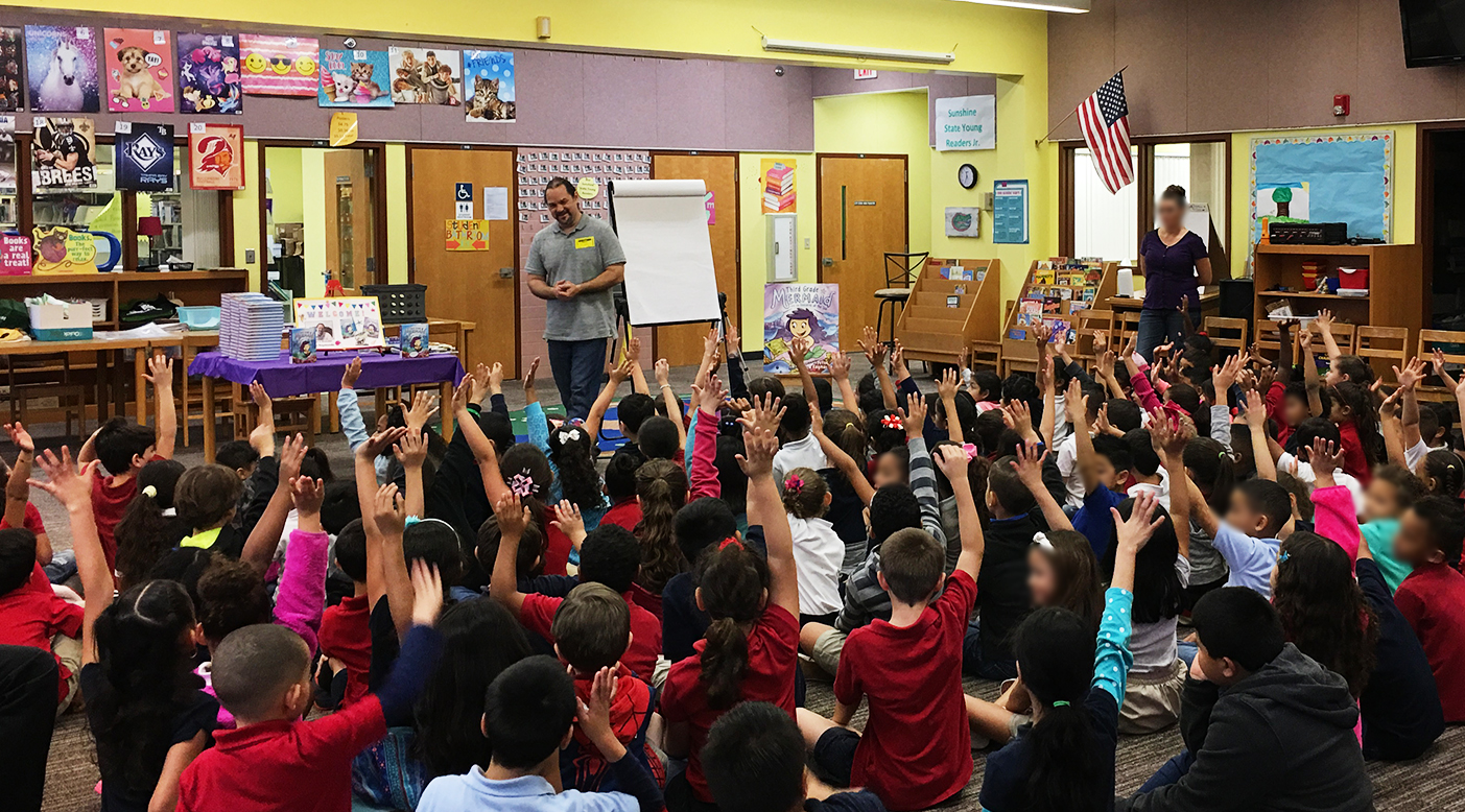 At Cypress Elementary in Orlando, Florida.