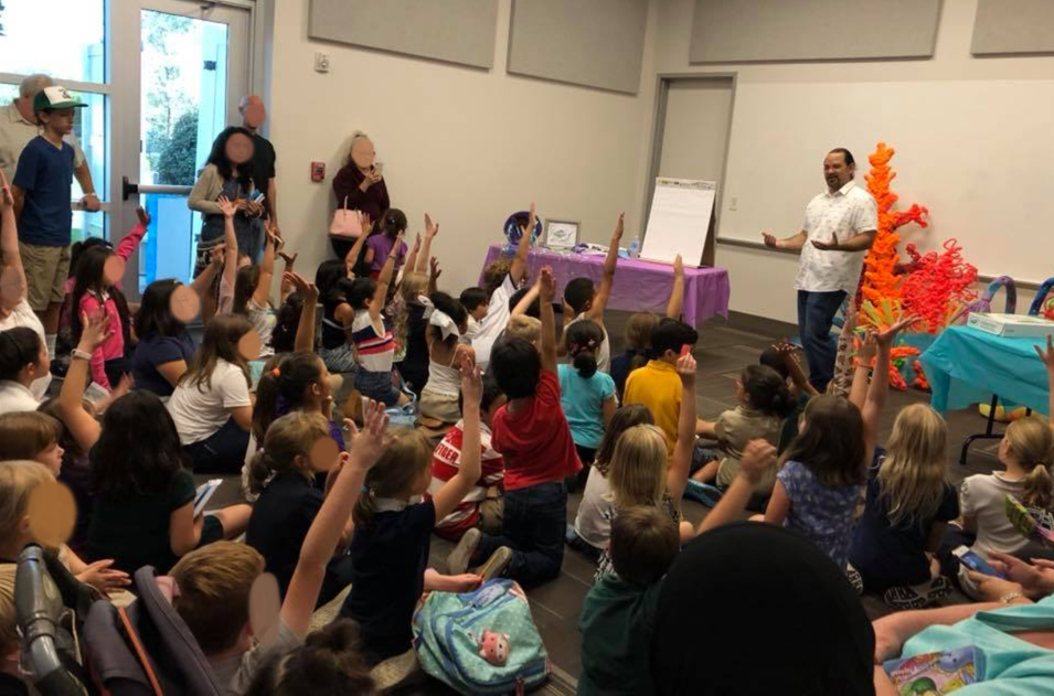 """How many of you know what a narwhal is?"" I asked, and amazingly every hand went up.  These kids knew all about the so-called ""unicorns of the sea,"" from where they live, what they eat, to the fact the their ""horn"" is actually a tooth."