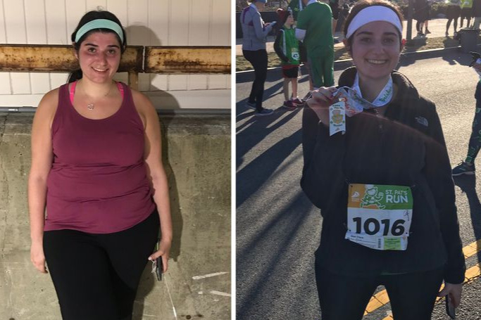FEATURED in Runners World - Read about Hanna's journey to her first 5k!