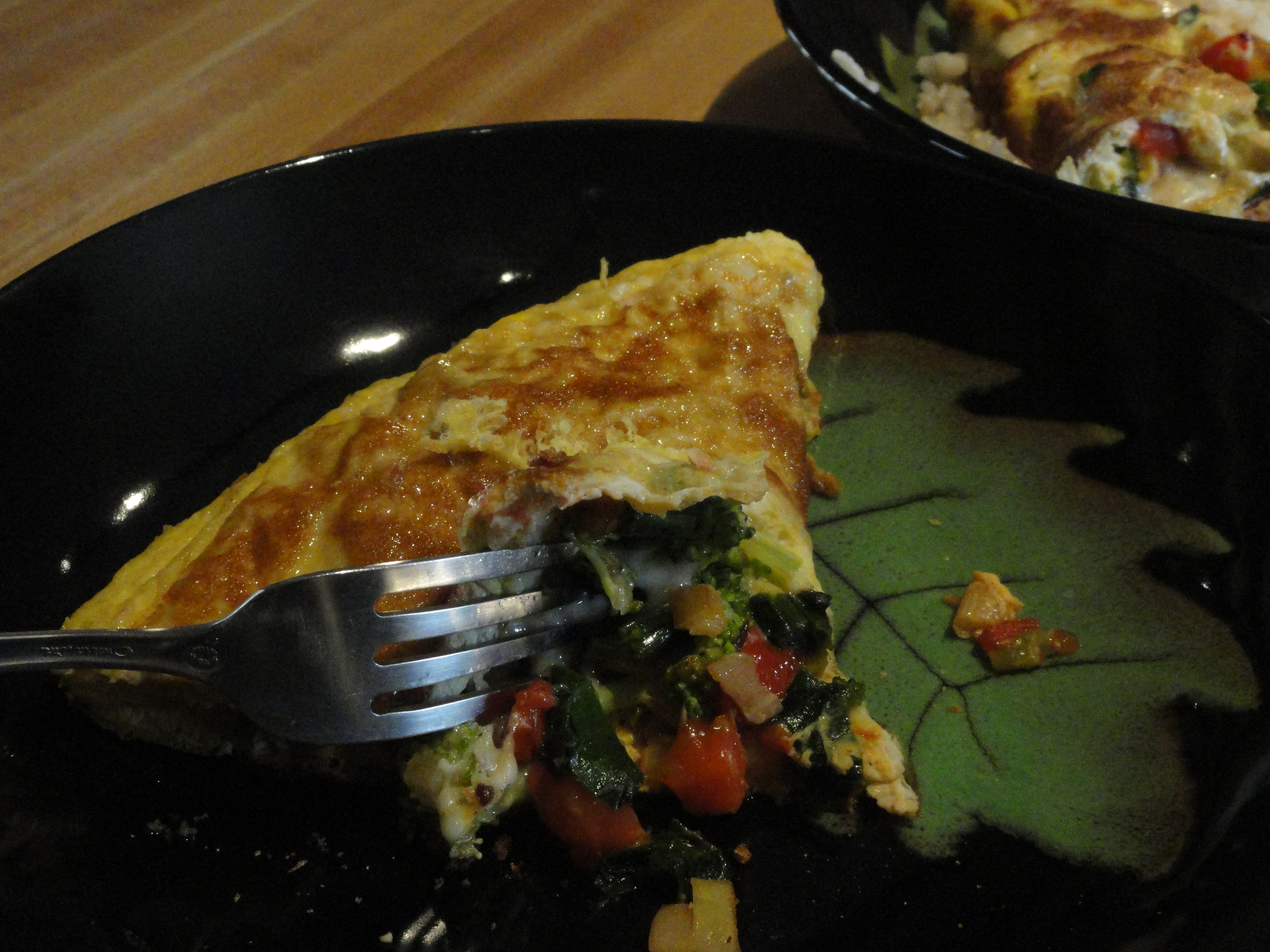 Fortunately, you can put almost anything foraged from the ground into an omelet. Even ramps!