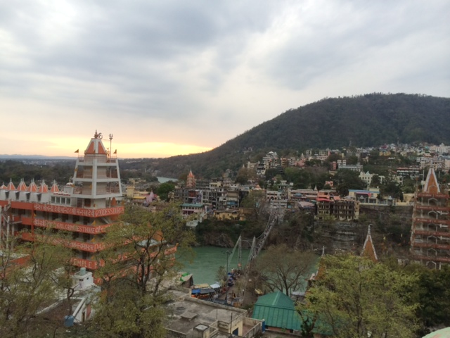 Sunset in Laxman Jhula, Rishikesh