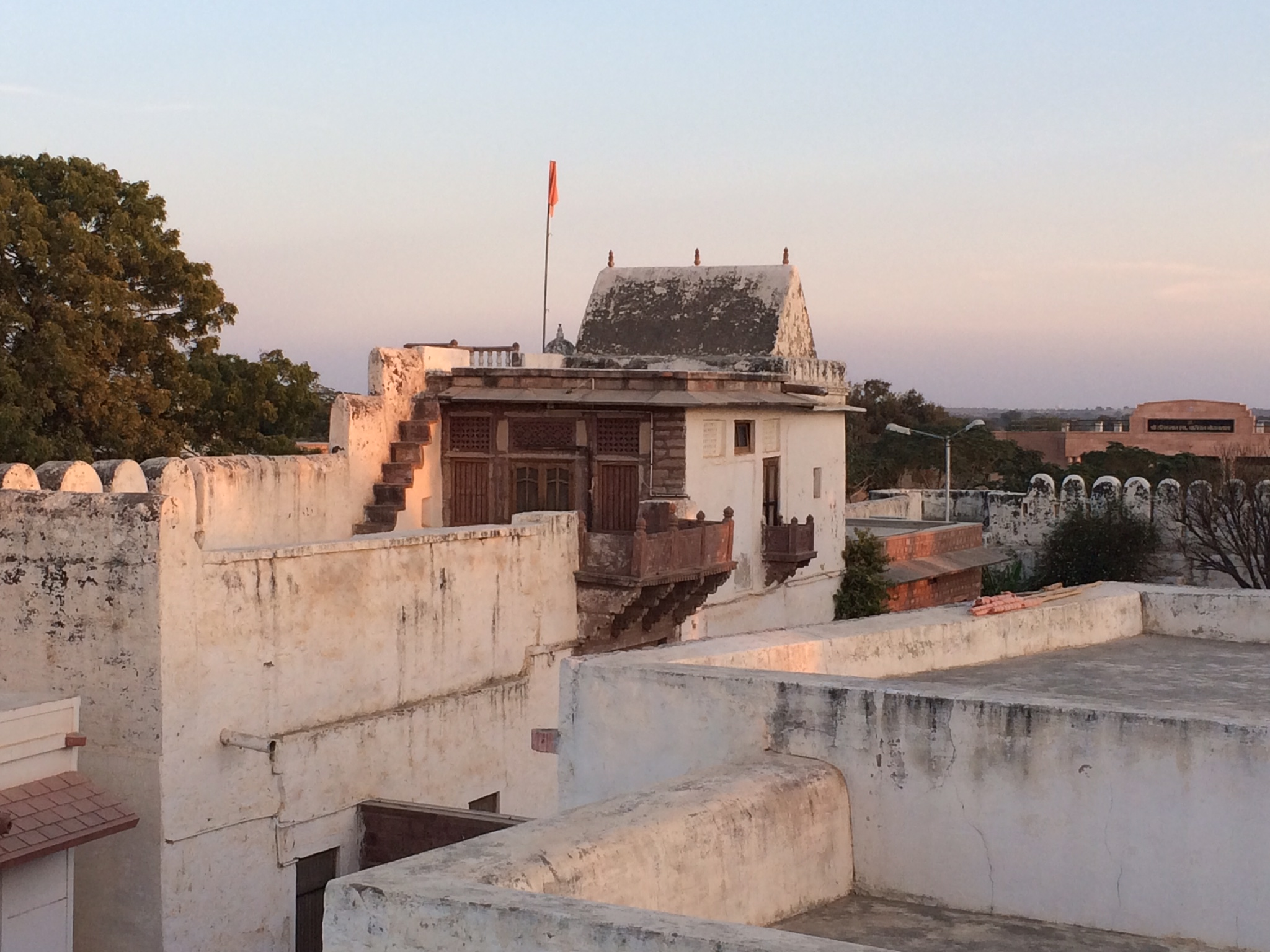 Inside the 500-year-old fort of Sri Jasnath Asan