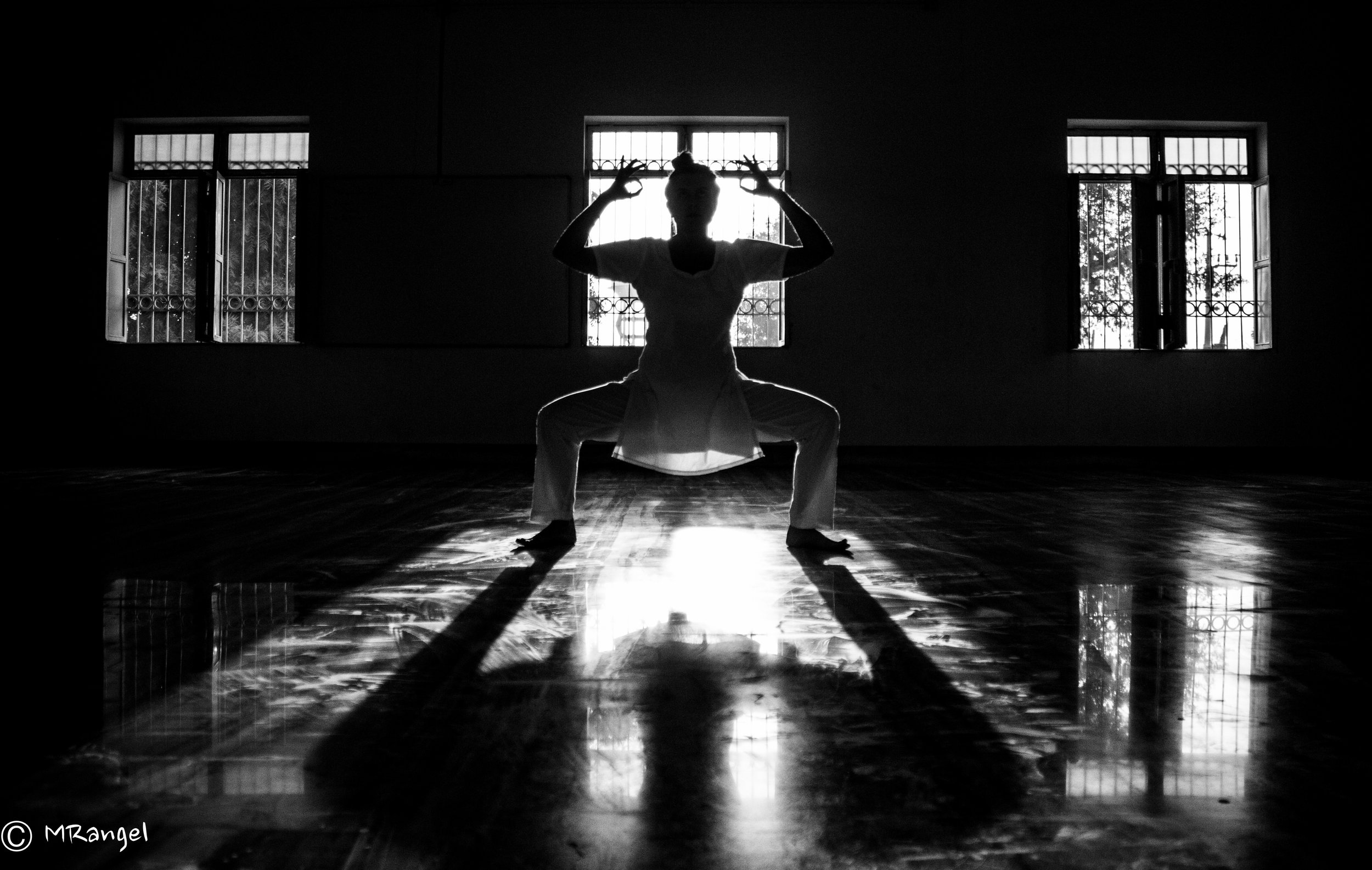 Goddess Pose. Photo by Mariana Rangel.