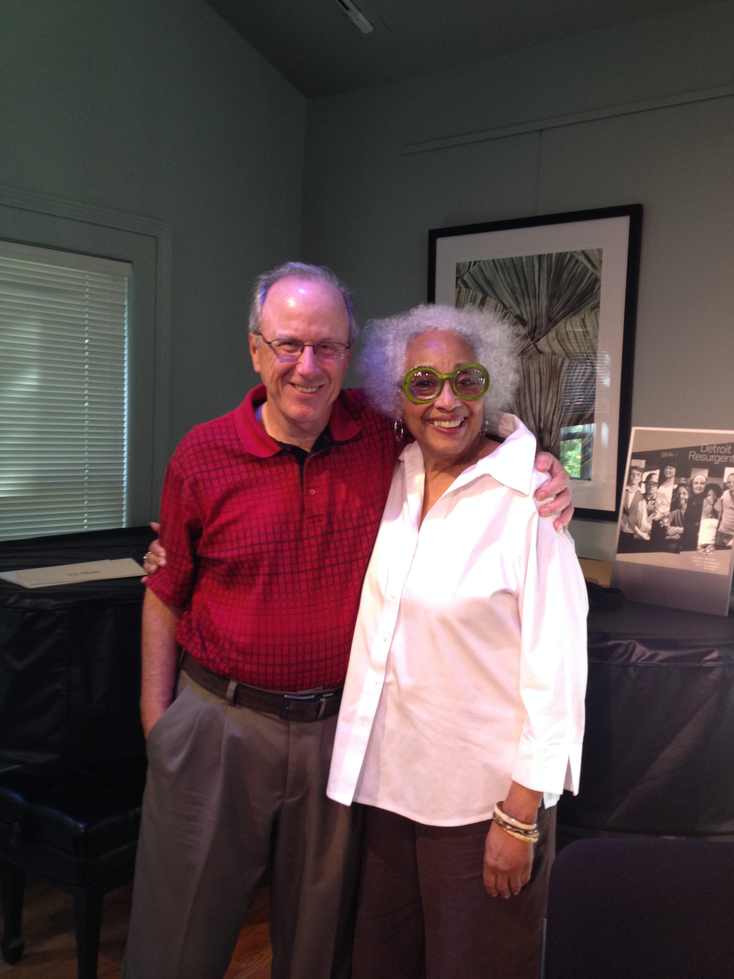 "Bob Morris, author of ""Built in Detroit"" w/Janet W. Jones"