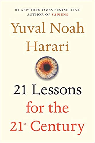 Yuval Noah Harari's  21 Lessons for the 21st Century  is a probing and visionary investigation into today's most urgent issues as we move into the uncharted territory of the future. As technology advances faster than our understanding of it, hacking becomes a tactic of war, and the world feels more polarized than ever, Harari addresses the challenge of navigating life in the face of constant and disorienting change and raises the important questions we need to ask ourselves in order to survive.