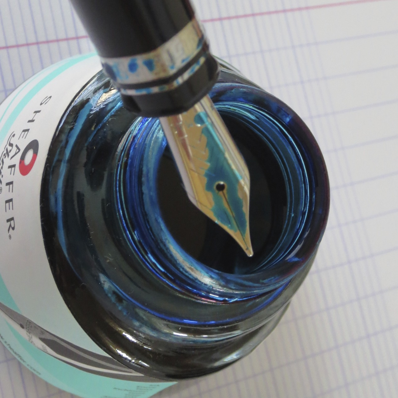 A nice, standard Medium Nib.  Silky Smooth.