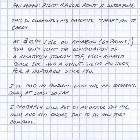 Handwritten Review