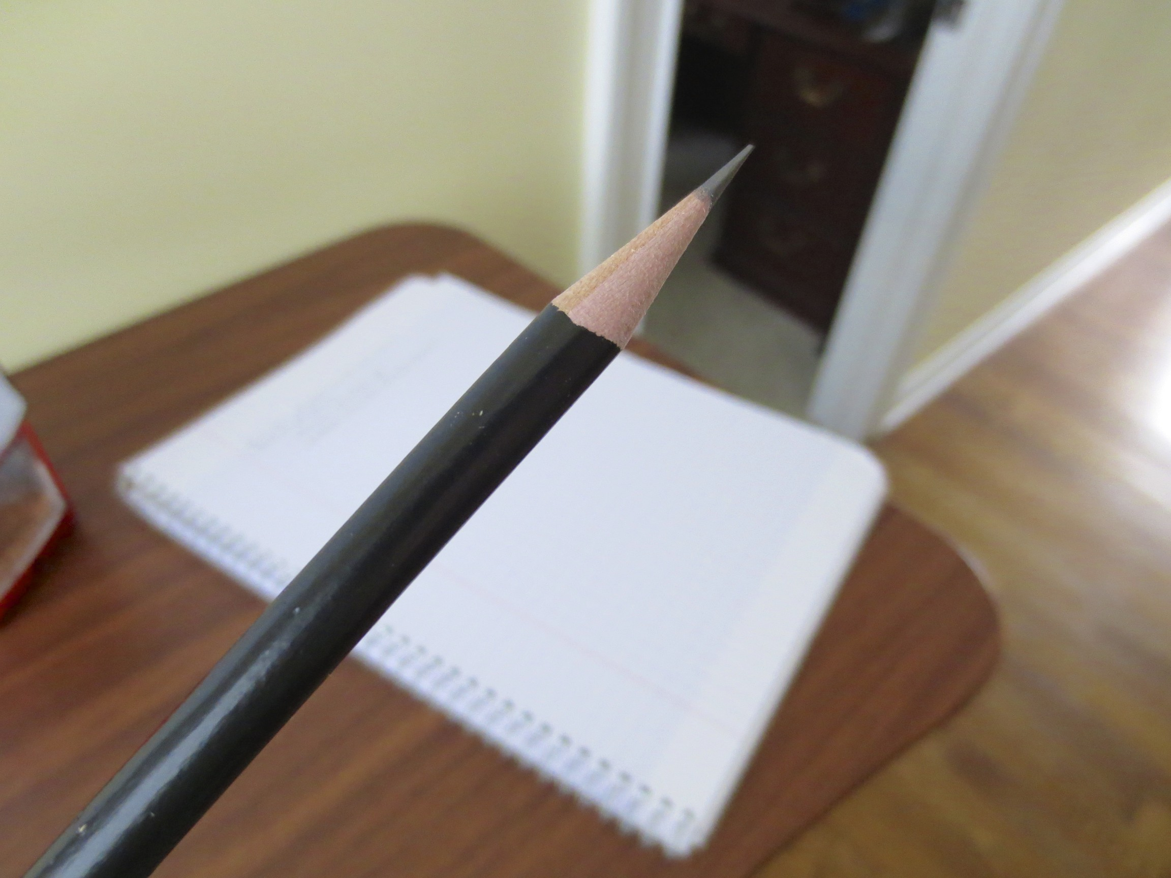 Black Rounded Pencil, Unmarked.