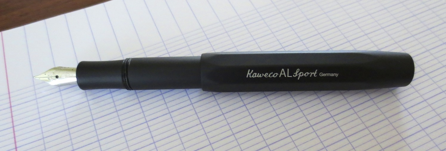 I love the engraving on this pen. The font is classy looking, and it doesn't feel like it will wear off easily.