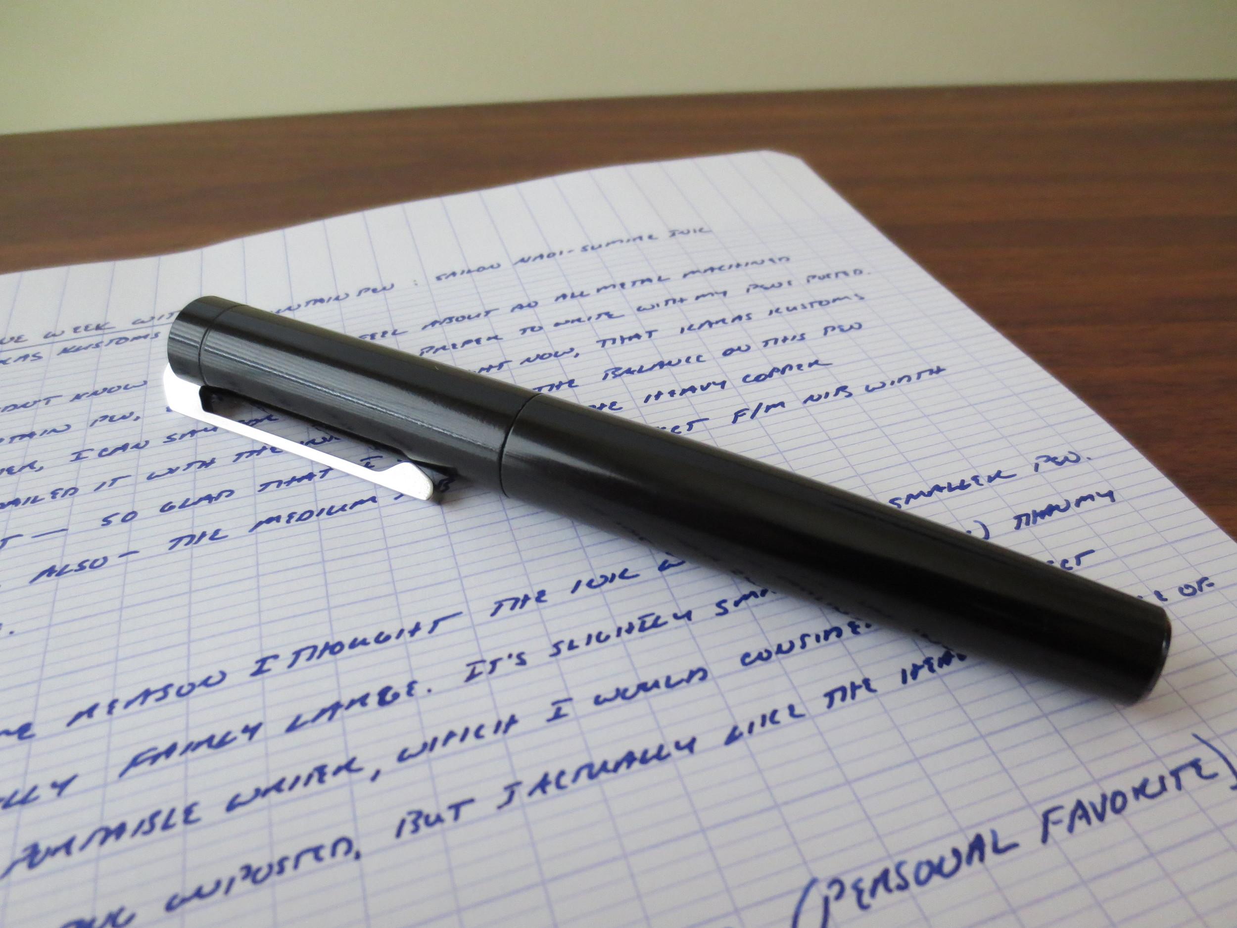 Karas Kustoms Ink Fountain Pen