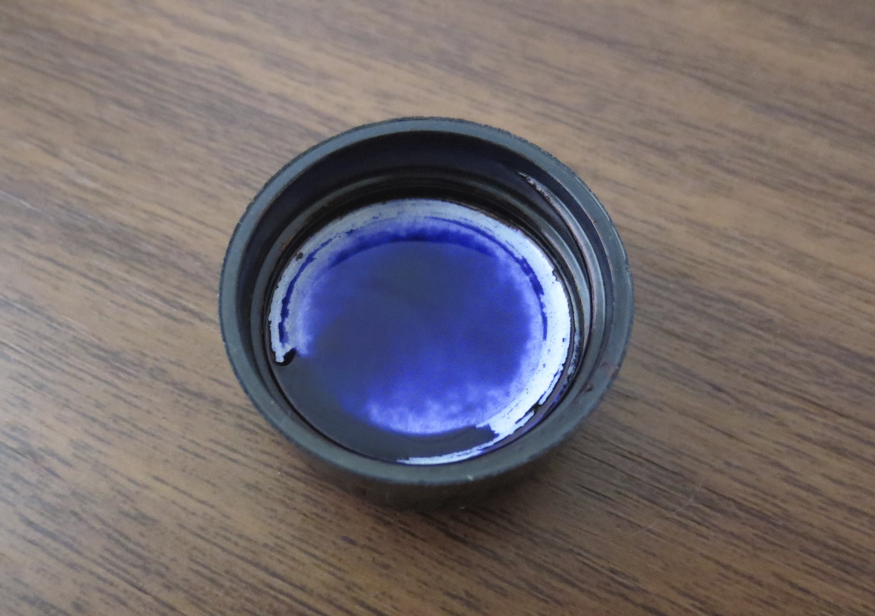 Deep, rich, purply blue Aurora Ink!