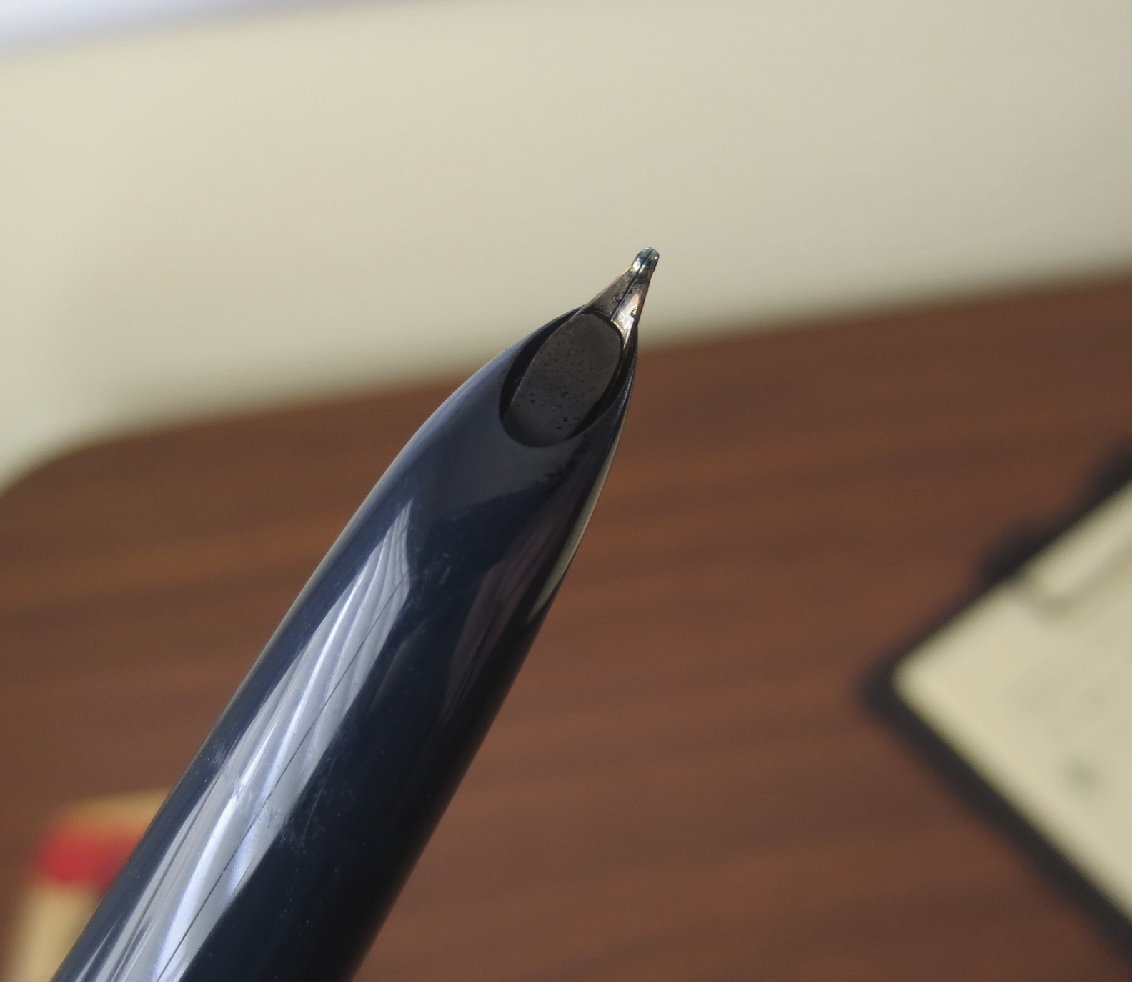 Underside of Hooded Nib