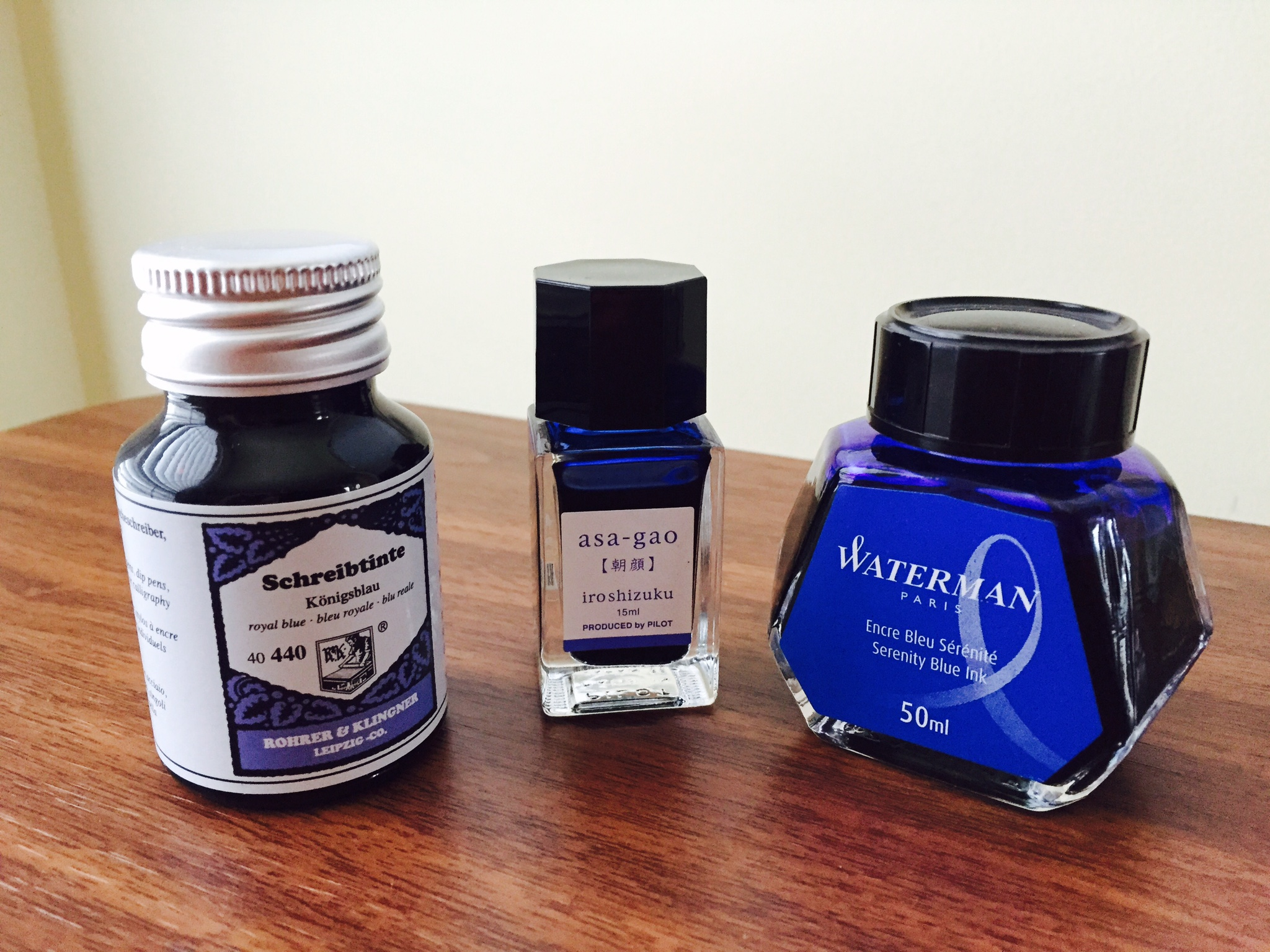 Office Blue Inks