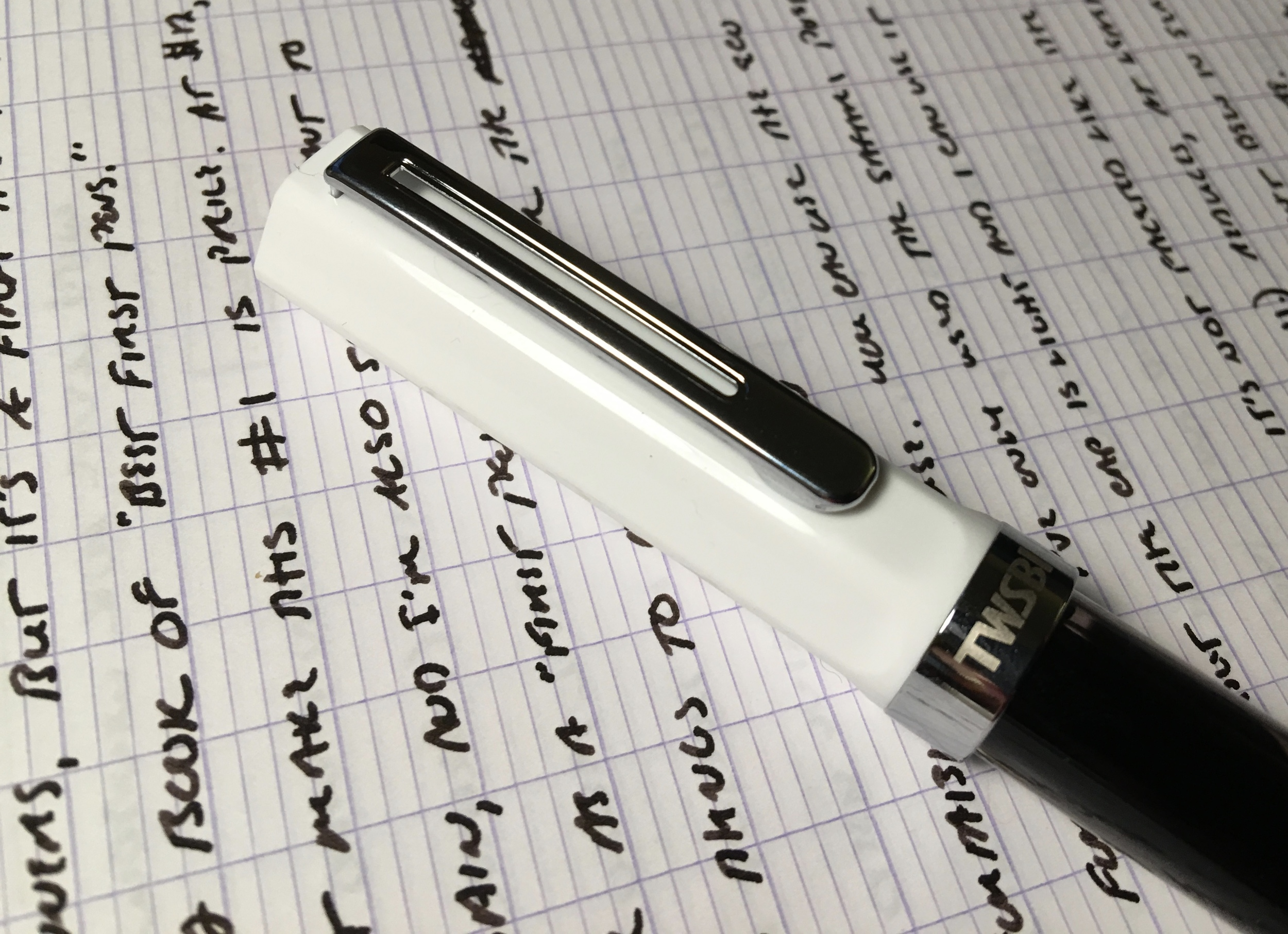 The cap and the clip on the TWSBI Eco have generated