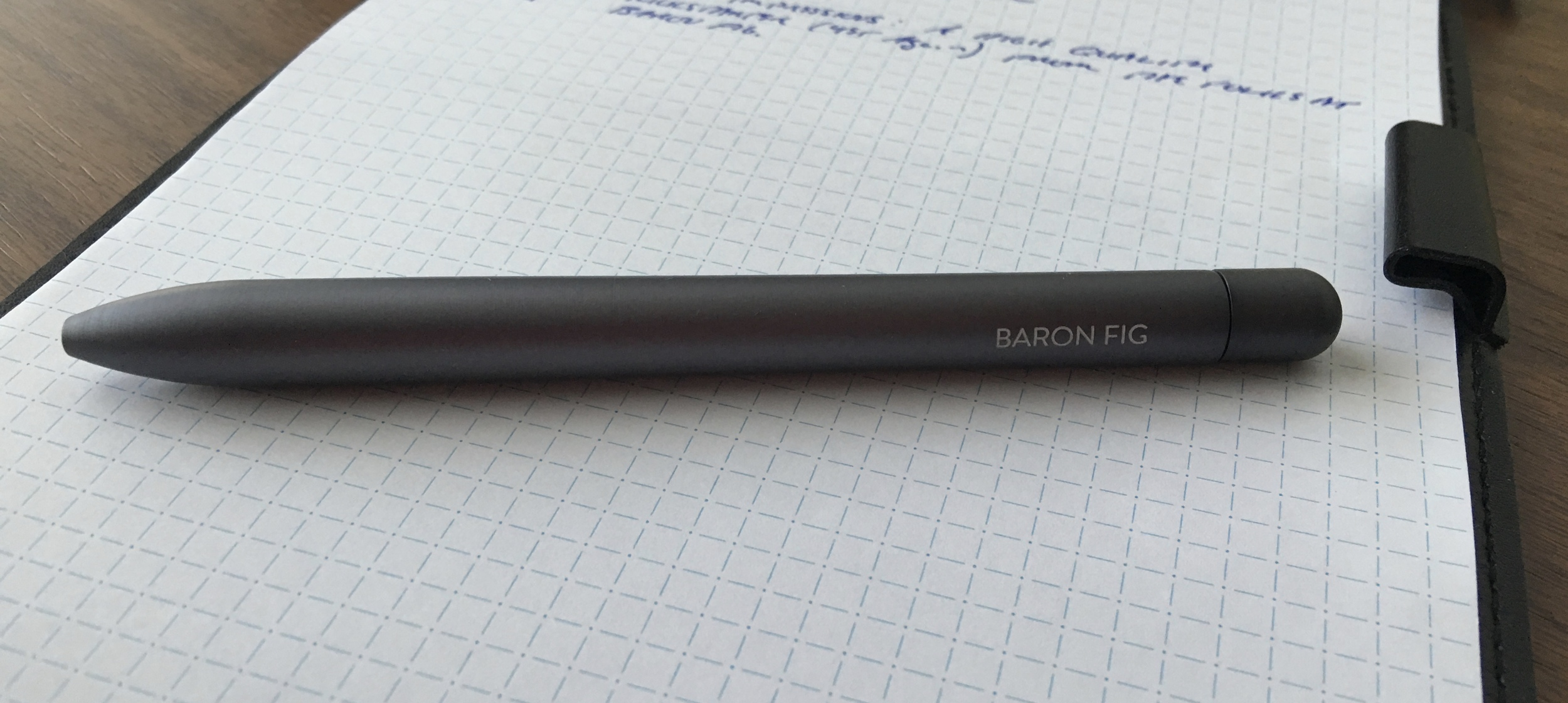 The Baron Fig Squire in Charcoal
