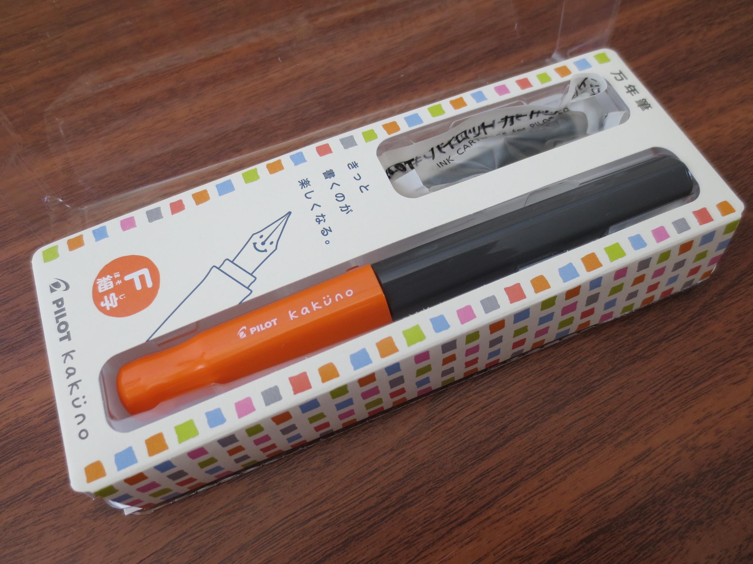 Pilot's Kakuno fountain pen is a great entry-level model.