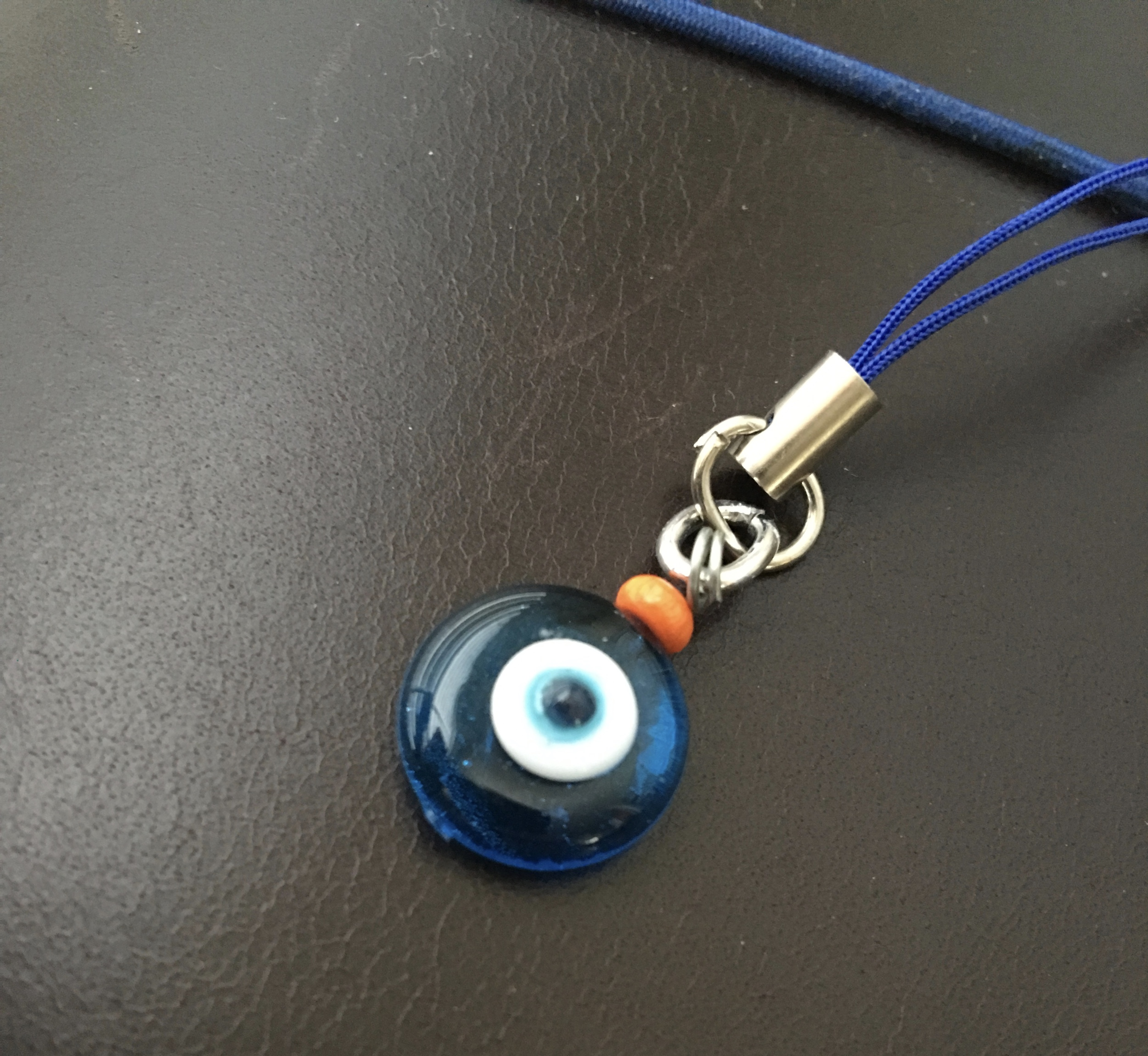 "Close-up of the ""Evil Eye""."