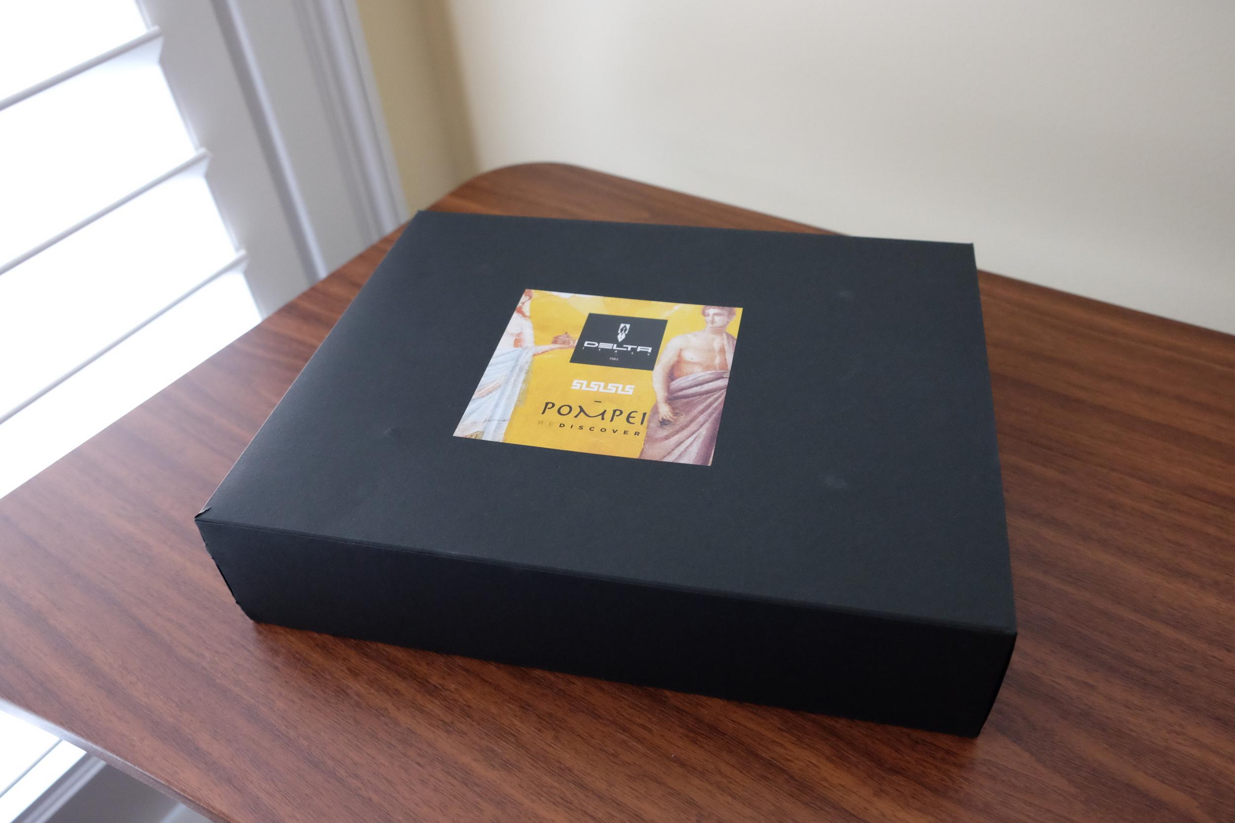 Delta Rediscover Pompeii Box