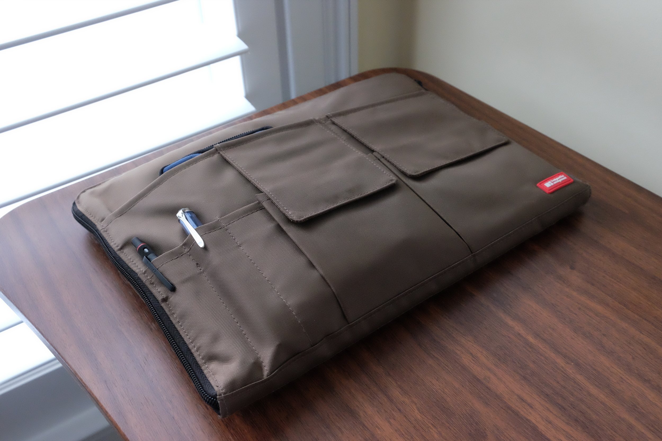 The Lihit Lab Bag-in-Bag portfolio/organizer has quickly made found its way into my daily work carry, and sometimes even on the weekend.