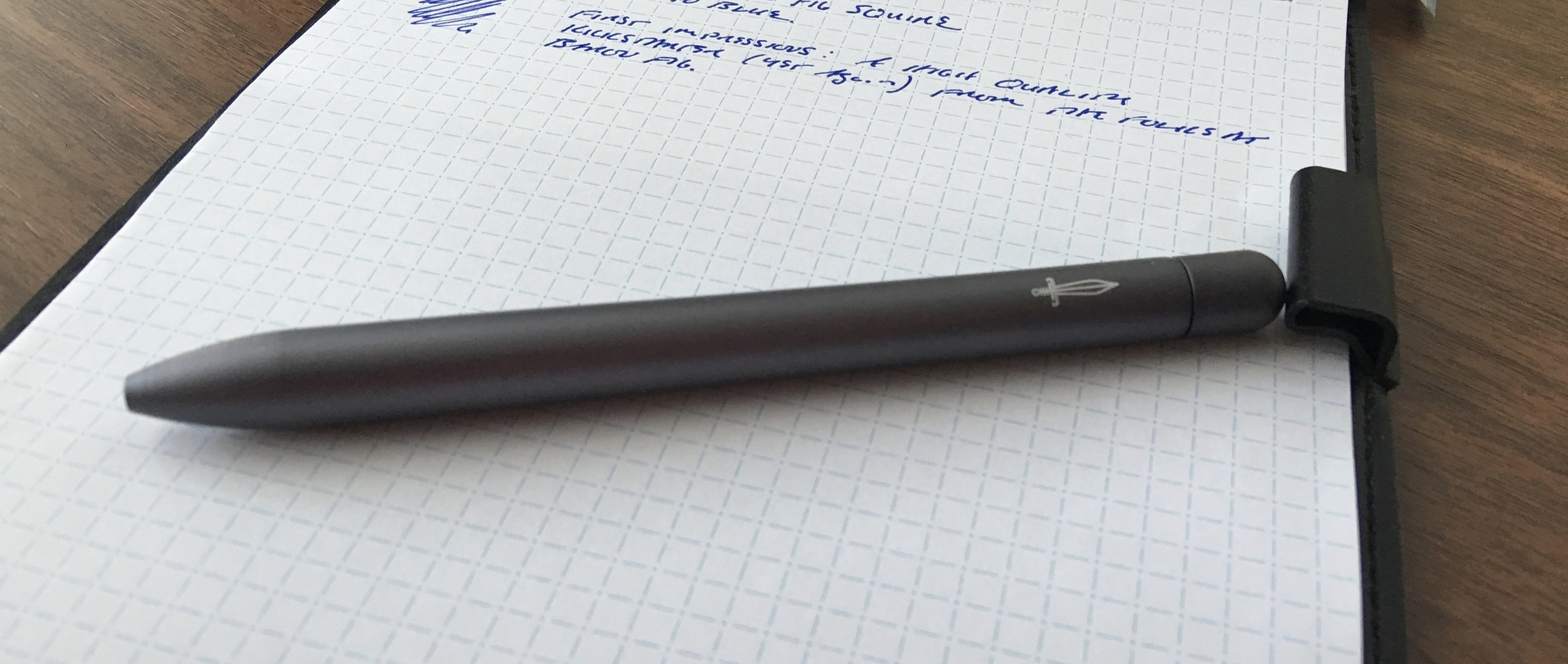 The Baron Fig Squire is an excellent liquid ink rollerball option, especially if you like the refill used in the Retro 51 Tornado.