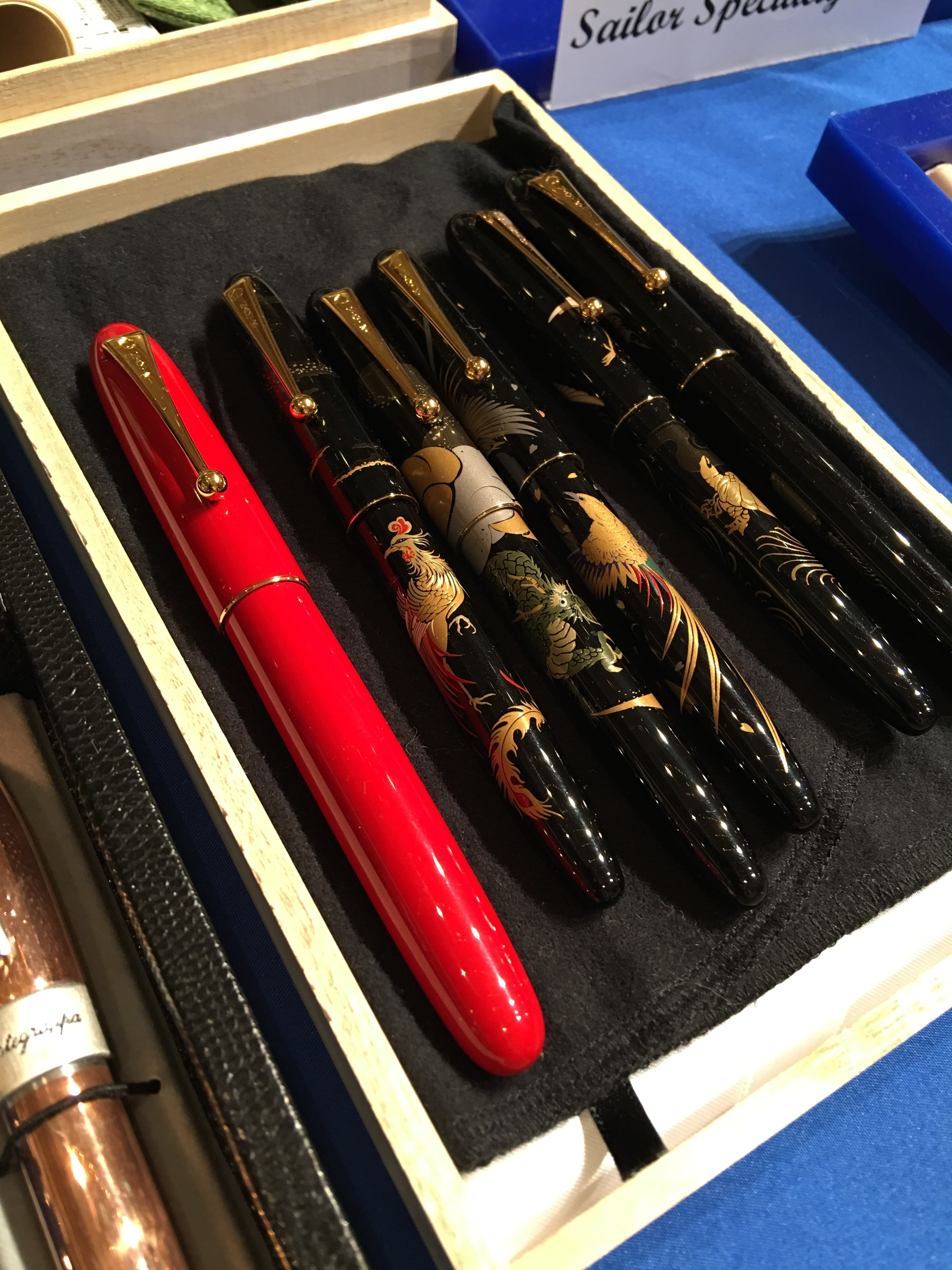 Sailor Urushi and Makie Pens