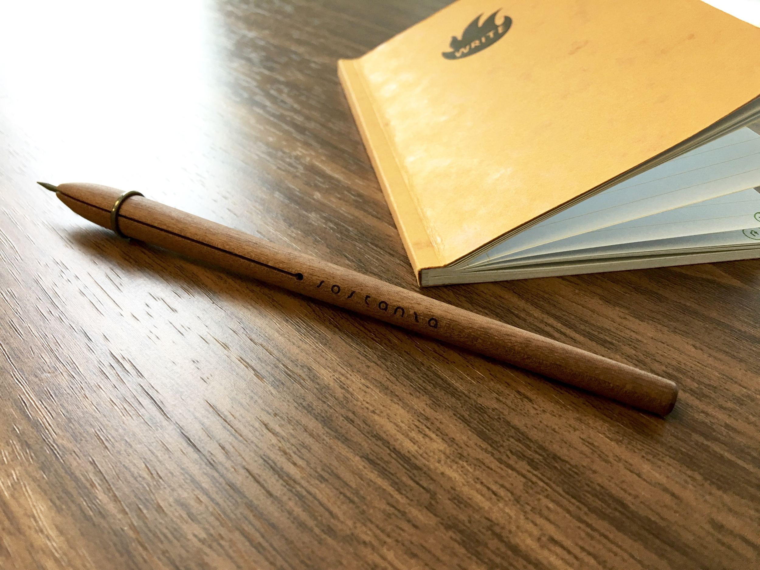 Introducing the Sostanza, a new wooden clutch pencil from Sotteranea Officina Sperimentale in Torino, Italy.
