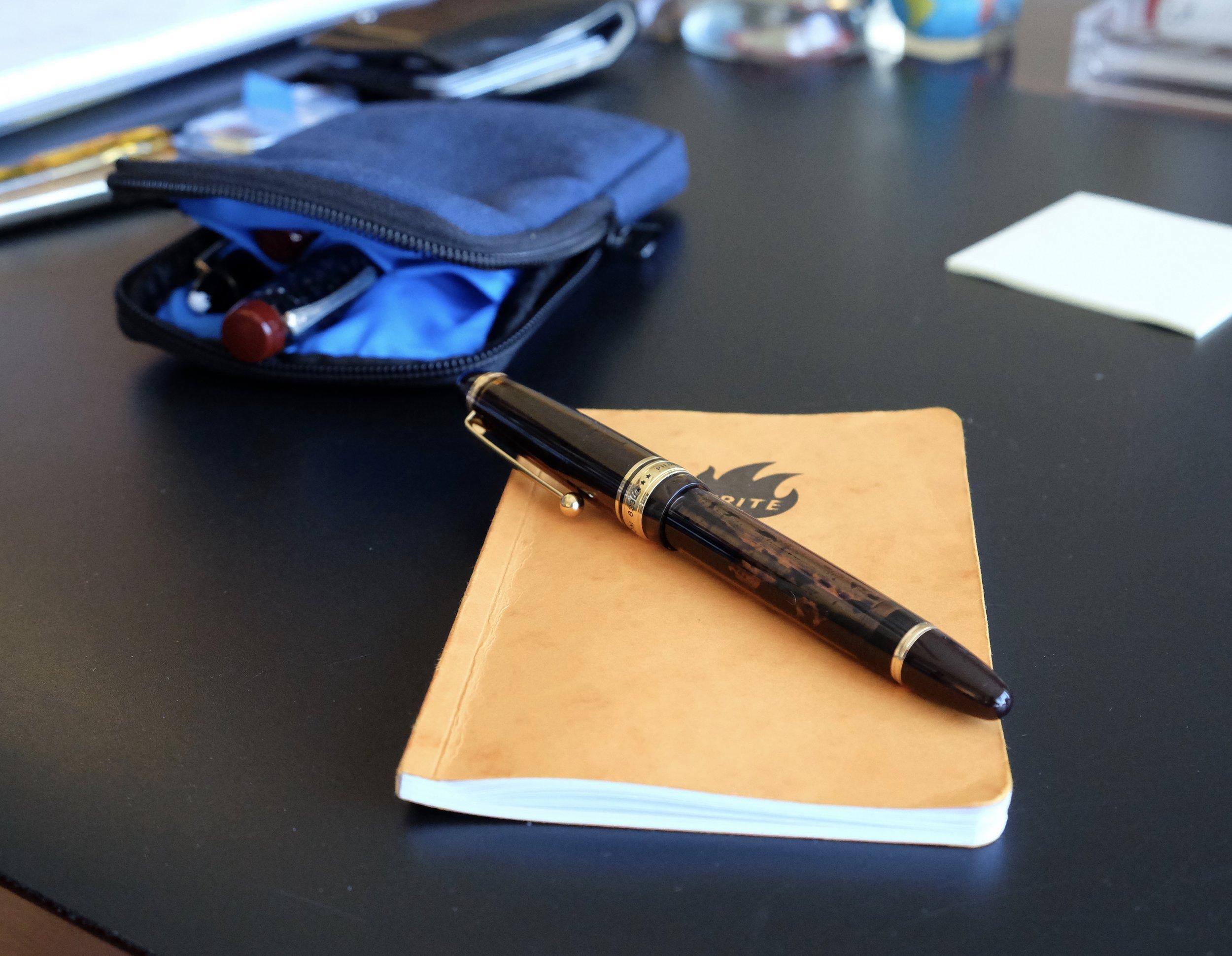 The Pilot Custom 823 Vacuum-Fill Fountain Pen