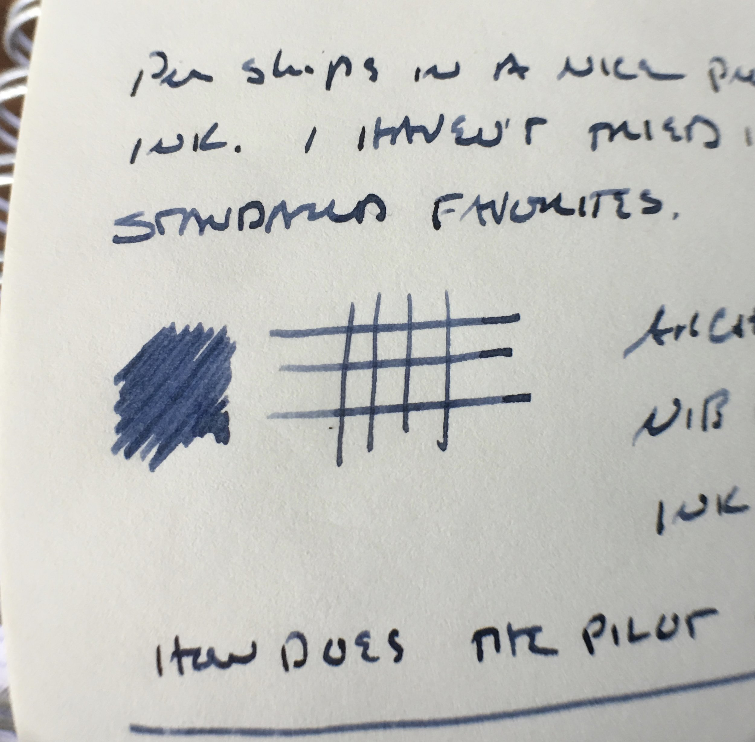 Writing sample of a medium architect's grind