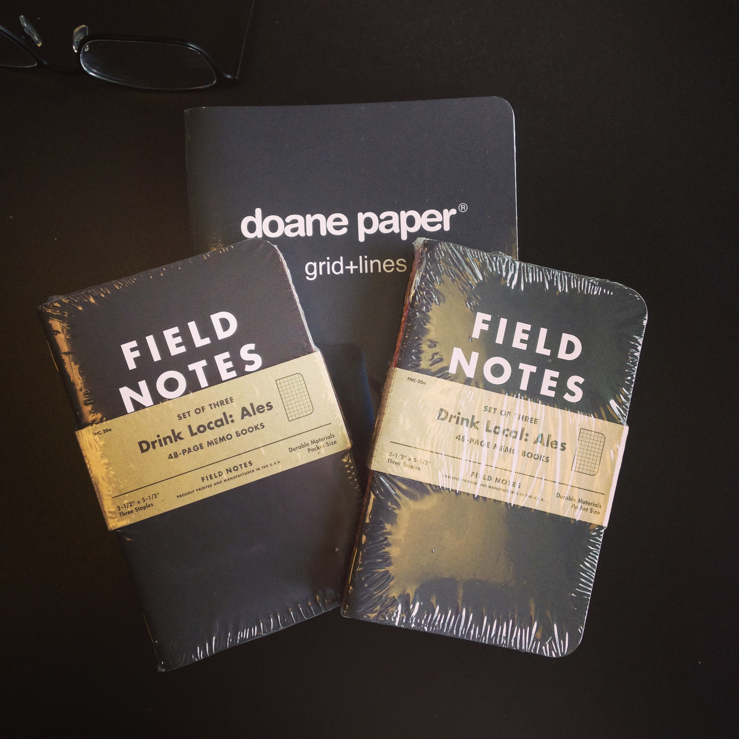 Field Notes Drink Local Ales (with Doane Paper)