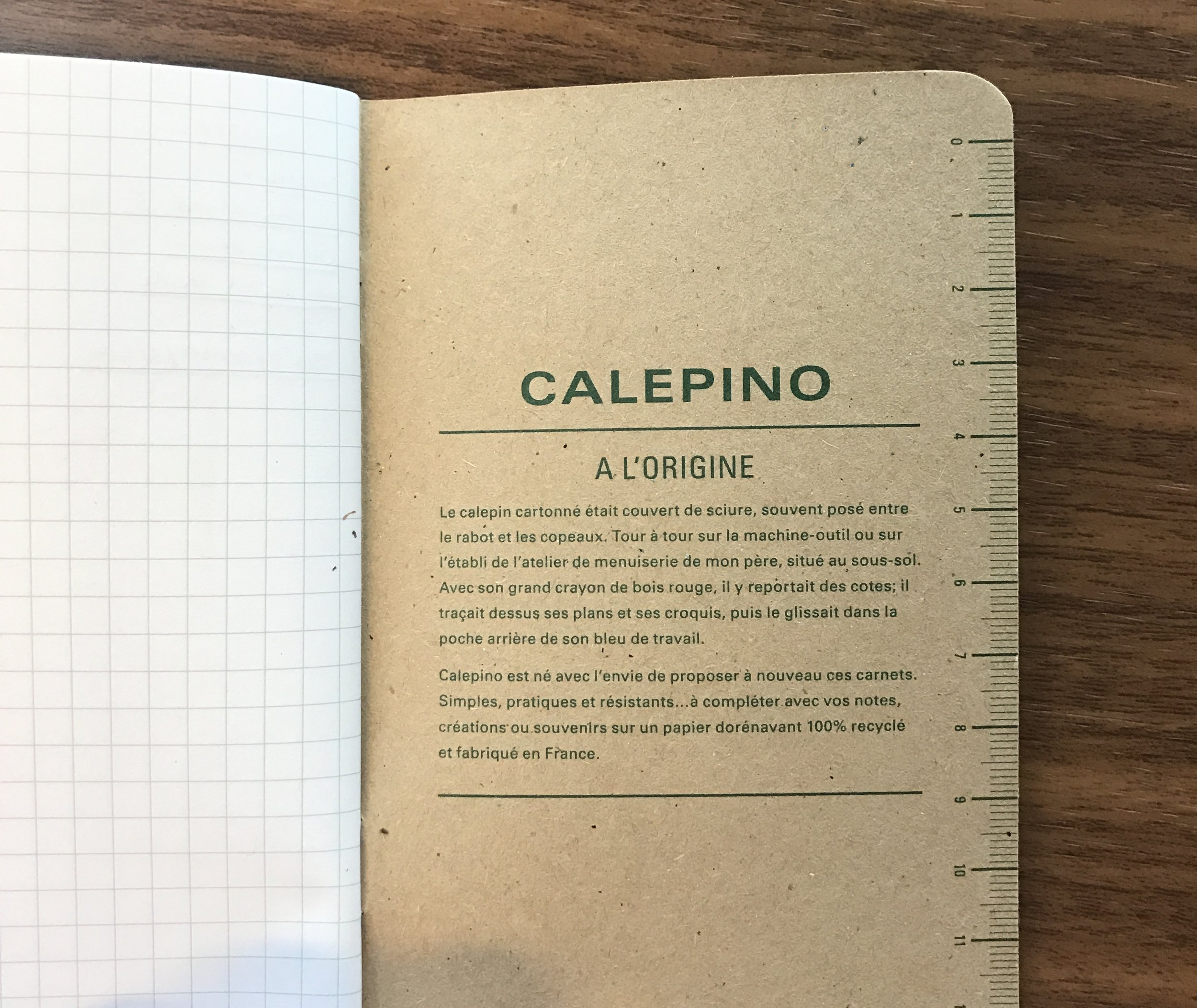 Plan D Etabli Bois notebook review: calepino pocket notebooks (graph paper