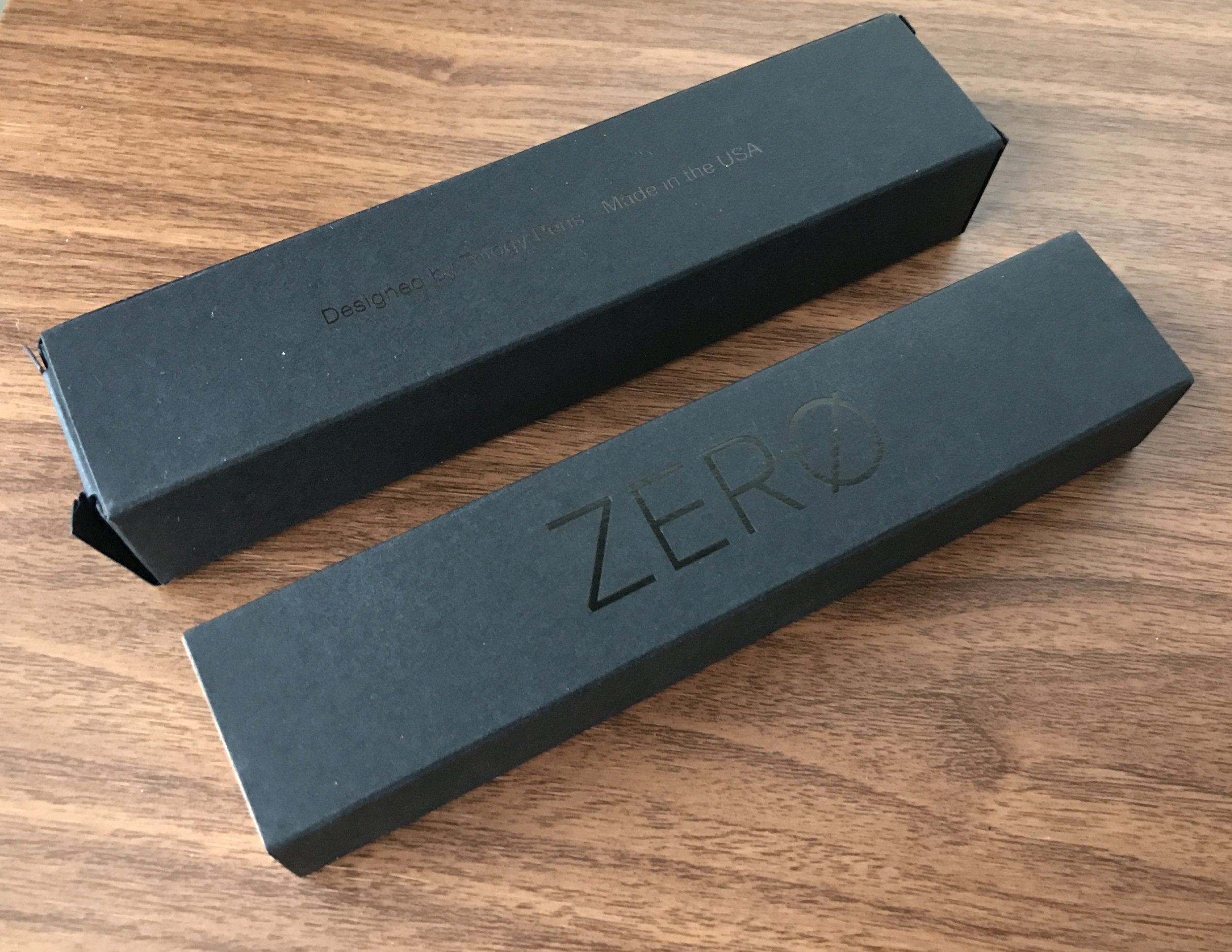 Trilogy Zero Inner and Outer Box