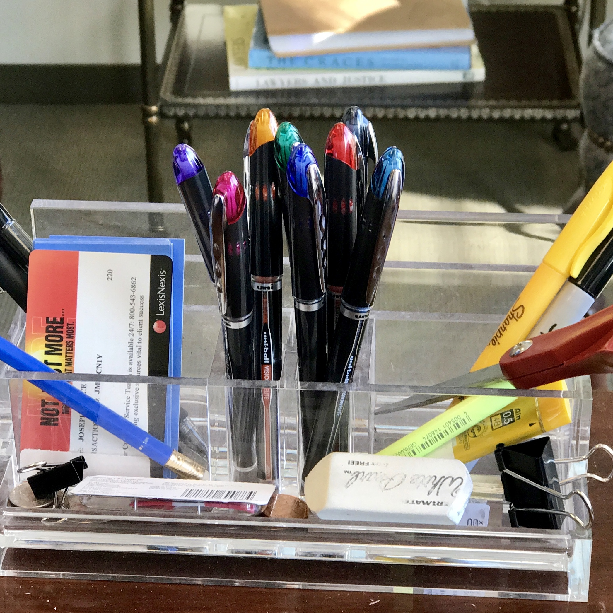 The Uniball Vision Elite threatens to take a spot in my list of  Best Disposable Pens for Everyday Use .