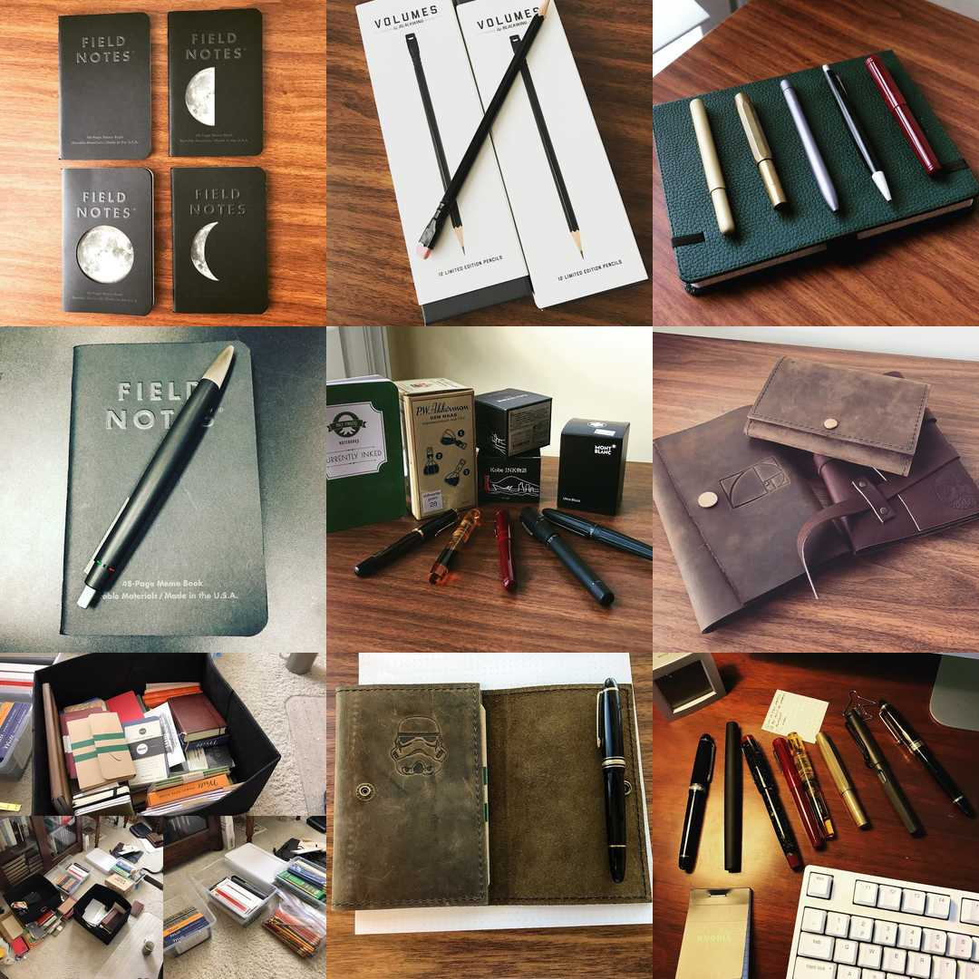 "My ""Top Nine"" Instagram Photos from 2016. Follow me on Instagram at @gentlemanstationer."
