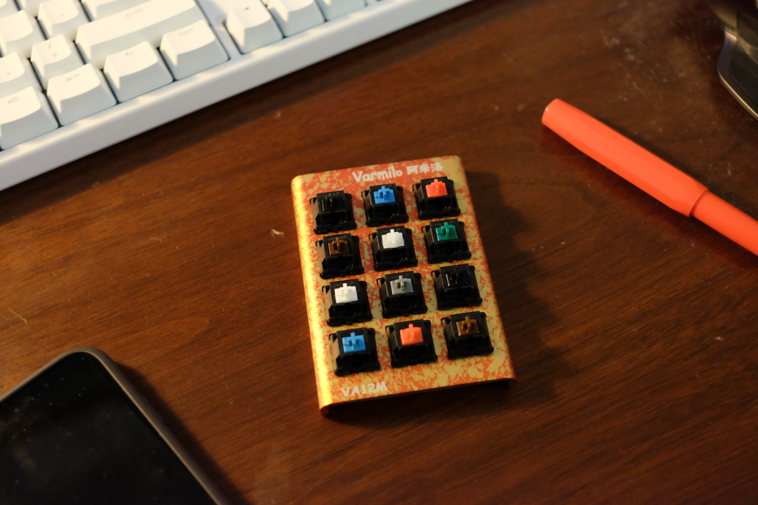 Try before you buy: My mechanical keyboard switch tester has saved me from myself countless times.