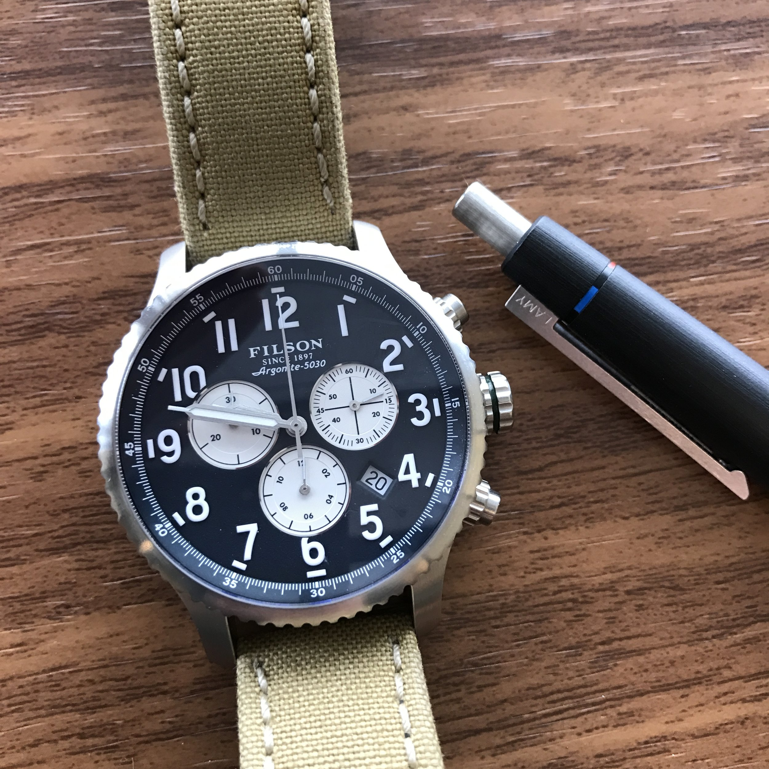 Pens and Watches - A dangerous combination.
