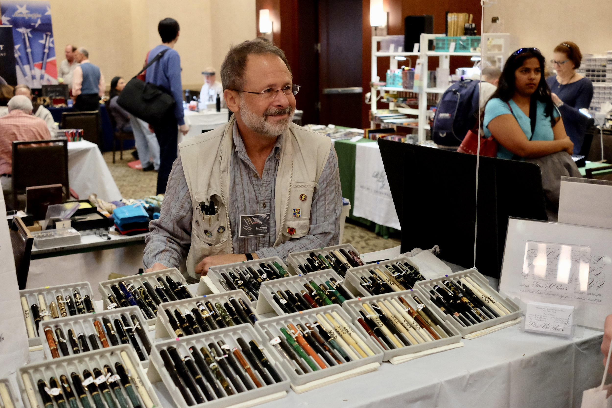 John Corwin and His Flex Pens
