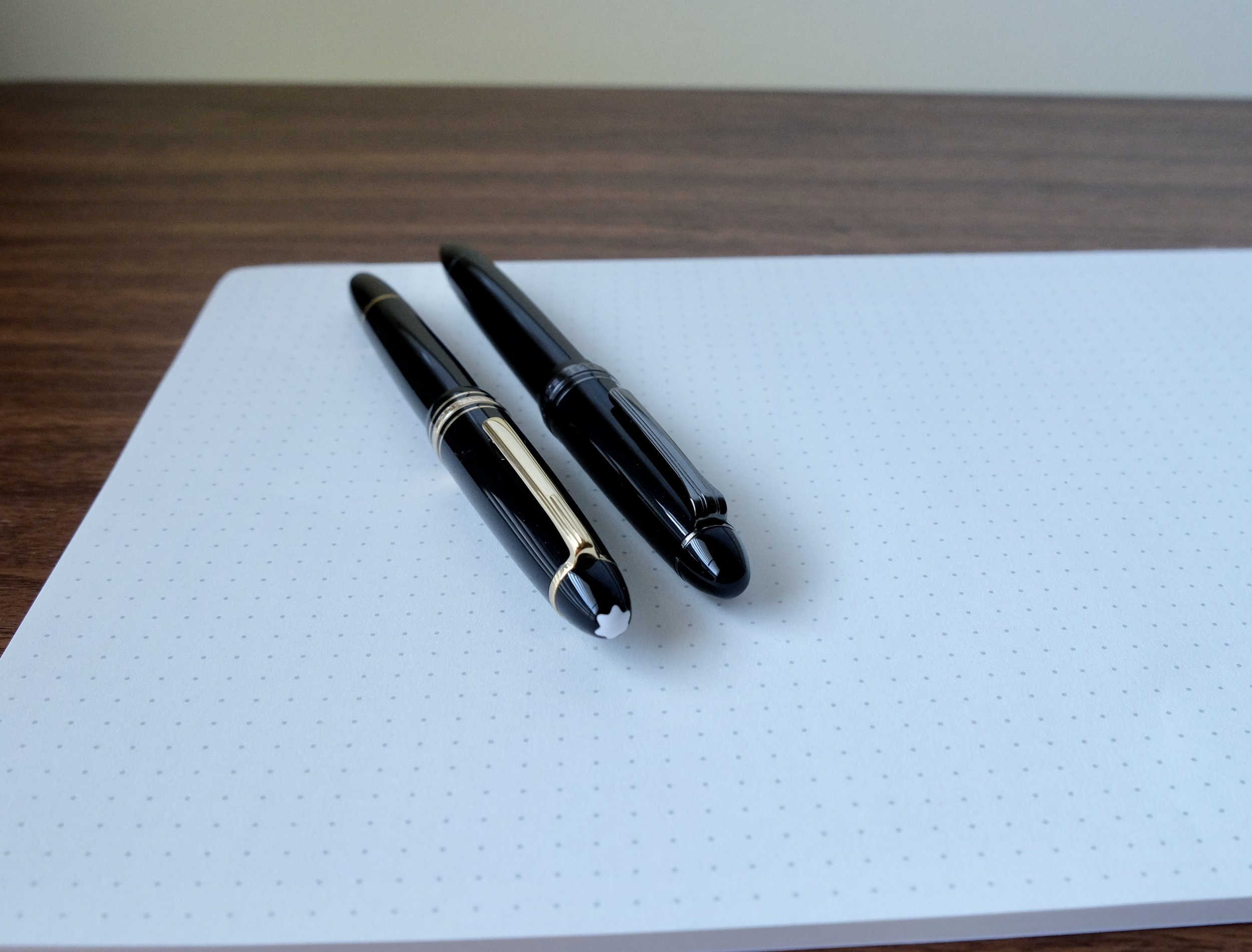 The Sailor 1911 Black Luster compared to a Montblanc 146.